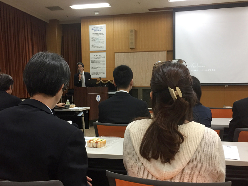 We joined the grand rounds of the local ophthalmologists. Even though we did not speak Japanese, we witnessed their passion to improve clinical service through research.