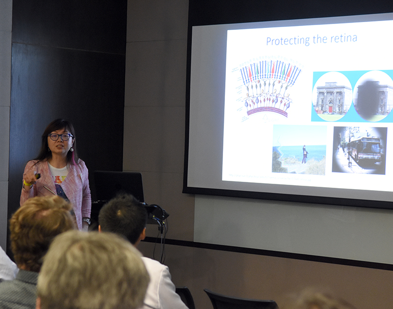 Dr. Amy Lo from the Department of Ophthalmology at the University of Hong Kong.